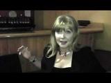 Cindy Morgan Yori and Tron reunite (Bruce Boxleitner interview-bombs Cindy Morgan)