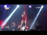 HyunA - Lip Hip + BABE + Roll Deep (Feat. Ilhoon of BTOB) (180707 CUBE TV UNITED CUBE-ONE-CONCERT)