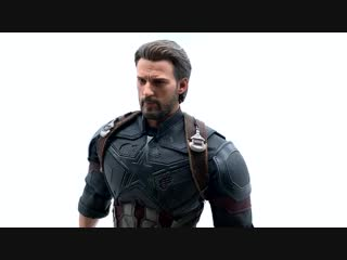 [Justin's Collection Eng]  Hot Toys: Avengers Infinity War - Captain America 1/6