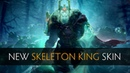Dota 2 New Skeleton King Wraith King Skin side by side comparison