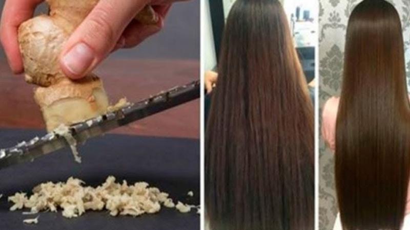 Benutze Ingwer für die Haare und schau was passiert