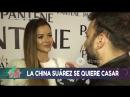 Ante el silencio de Pampita La China Suárez habló hasta de su casamiento con Vicuña