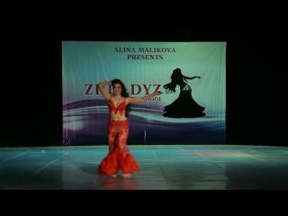 "ALINA MALIKOVA gala show in ""ZHULDYZ"" 2018"