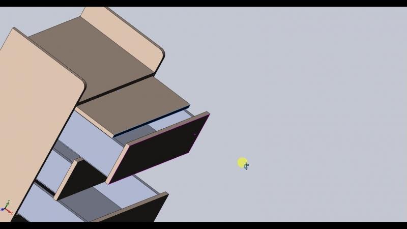 Стол комод-трансформер