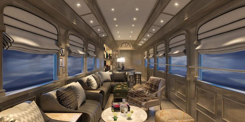 12 самых роскошных туристических VIP-поездов мира.