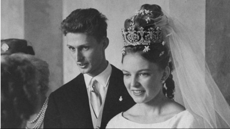 Свадьба Принцессы Дианы Орлеанской и Герцога Карла фон Вюртембергского, 21 июля 1960 г.