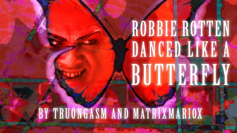 Robbie Rotten Danced Like a Butterfly 【Smile.dk x Lazytown】