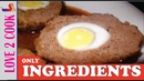 Nargisi Kofta Recipe Ingredients How To Make Nargisi Kofta Meatballs Urdu Hindi 2019
