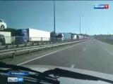 На подъезде к Каменску-Шахтинскому образовываются серьезные автомобильные заторы