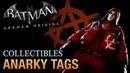 Batman Arkham Origins Anarky Tags Voice of the People Achievement Trophy