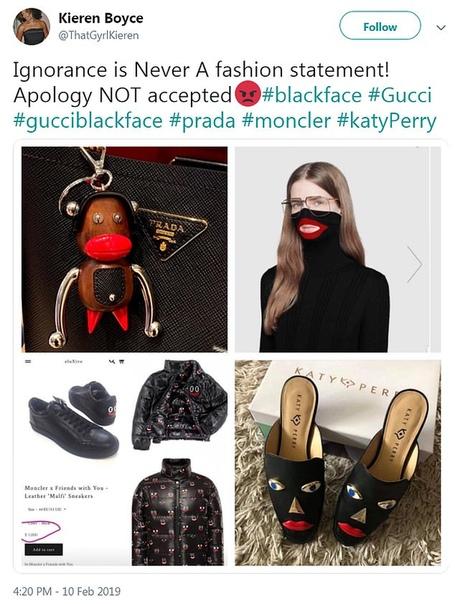 Вокруг дизайнерских туфель Кэти Перри разгорелся расистский скандал