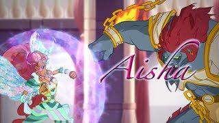 Winx Club Season 6 - Aisha Bloomix Spells - English