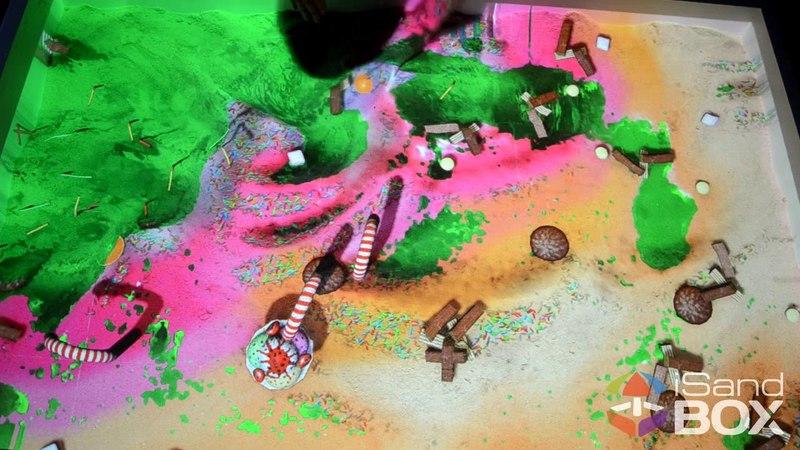 Другая планета режим интерактивной песочницы iSandBOX