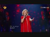 Полина Гагарина с песней «Катюша» на китайском шоу