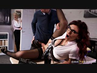 [brazzers] amina danger - wild women at work new porn 2019