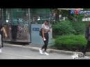 180713 Джесси направляется на съемки Music Bank