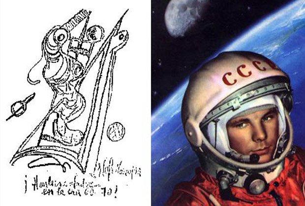 Загадочные рисунки  Бенджамина Солари Парравичини