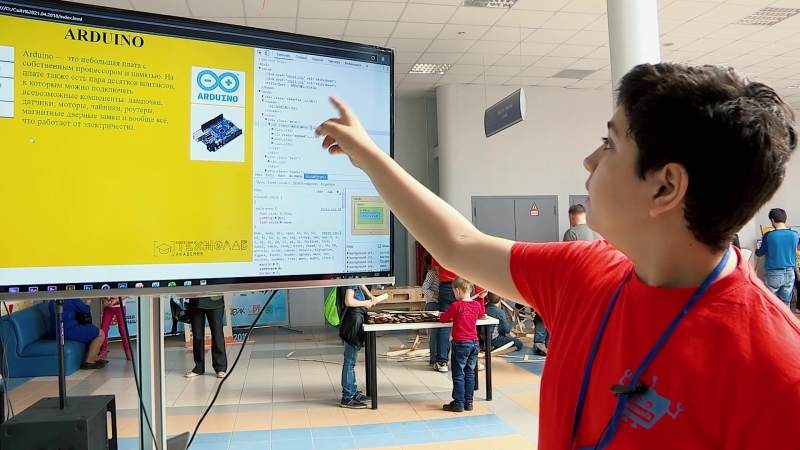 Чухров Максим, обучается в Академии Технолаб