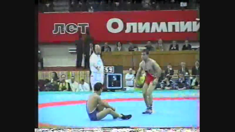 Ярыгин-1996 57 кг финал 3-4 м Анушаван Саакян (Армения)-АРТУР ФЕДОРОВ (Казахстан-САХА)