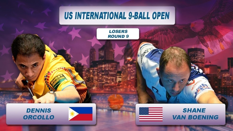 Dennis Orcollo - Shane Van Boening   US International 9-Ball Open 2018