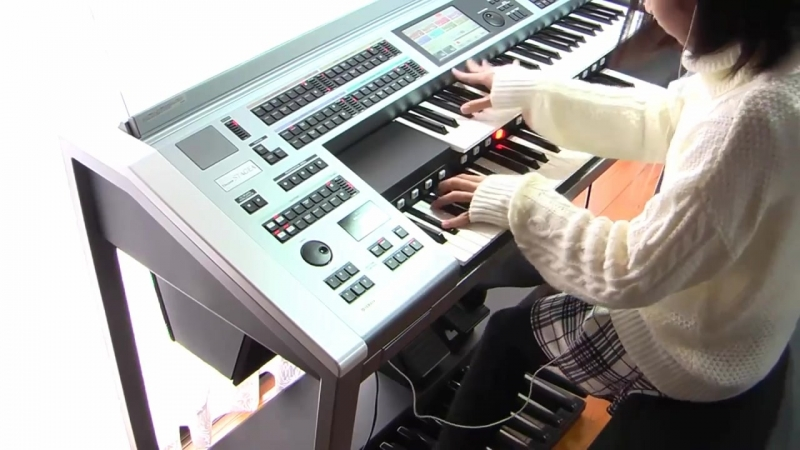 Star Wars Theme и Yamaha Electone ELS-02C