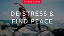 30 Min Yoga To Ease Daily Stress 🕉 Relax Ease Tension Good Sleep Flexibility Class