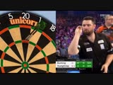 2019 World Darts Championship Round 2 Bunting vs Humphries