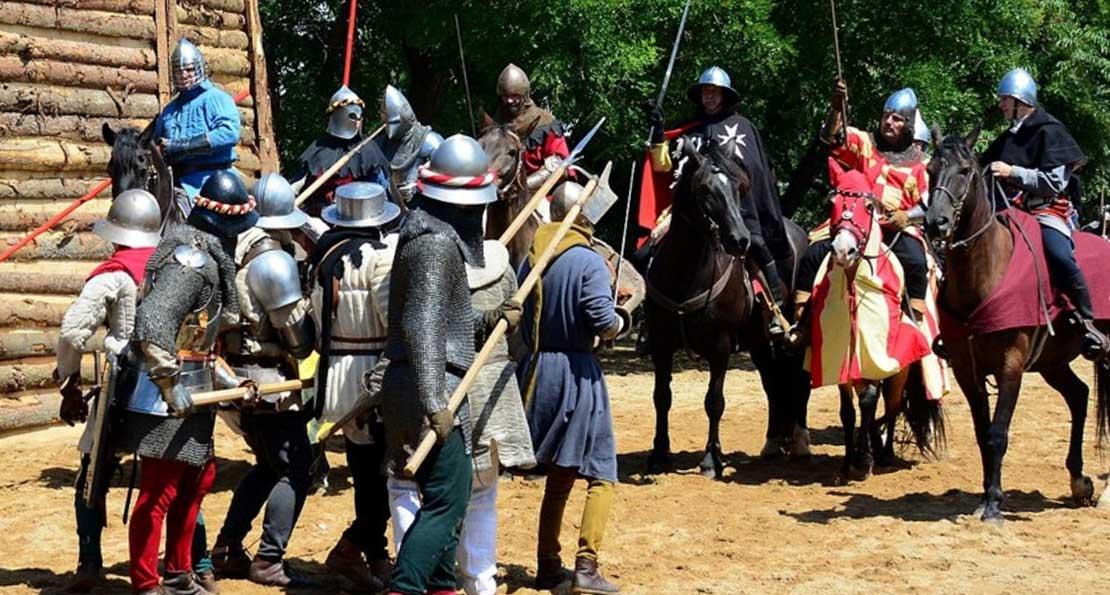 Пехота против конницы