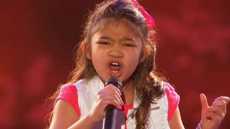 Celine Tam Rival? Angelica Hale 9-Years Old Earns Golden Buzzer - America's Got Talent 2017