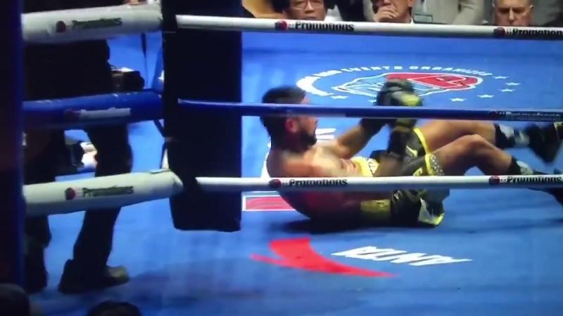 Бокс. Мэнни Пакьяо vs Лукас Матиссе. Нокаут.