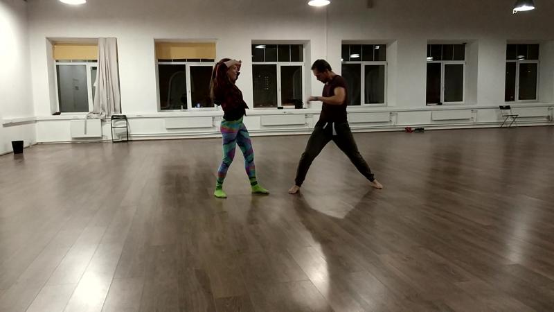 Иван и Наталья, прогон номера Невозможно