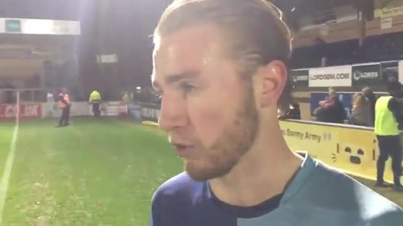 Rapid reaction from Jason McCarthy and Randell Williams on Wycombe win
