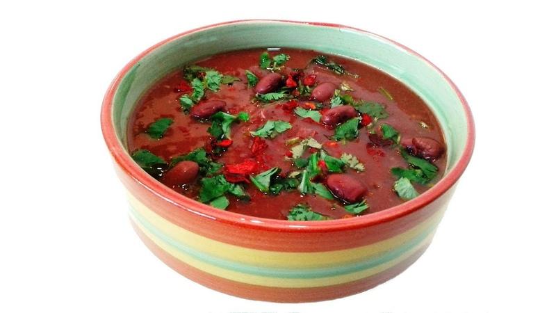 Суп из Миндврис Лобио с Мчади ✧ Грузинская Кухня