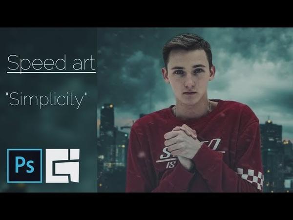 Speed Art - Simplicity | Photoshop | Braginskoy