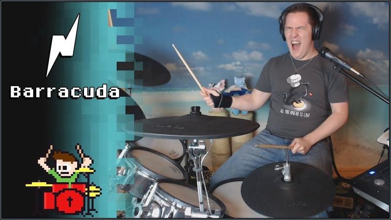 Noisestorm - Barracuda On Drums! -- The8BitDrummer