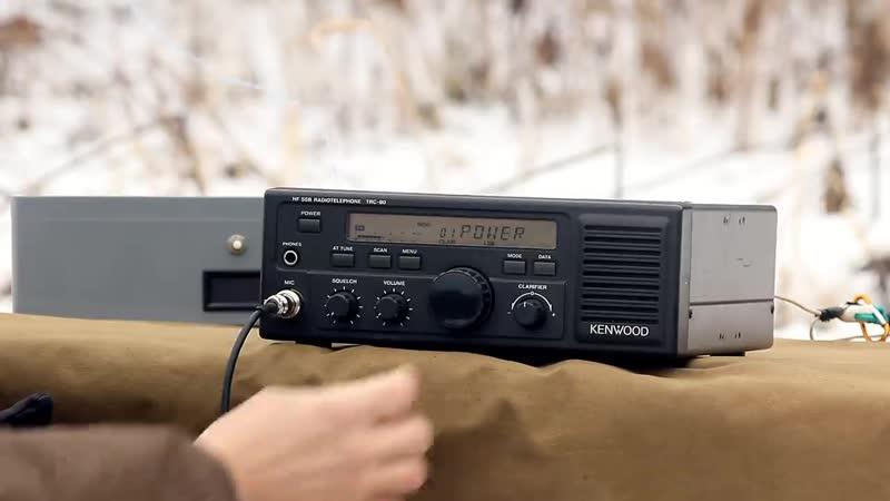 Радиоканал с Алексеем Игониным Kenwood TRC-80 - КВ-трансивер для профессиональной радиосвязи