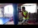 Тренировка по боксу у меня дома (Артем)