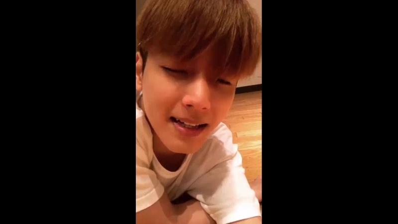 180718 Seyong Instagram Live