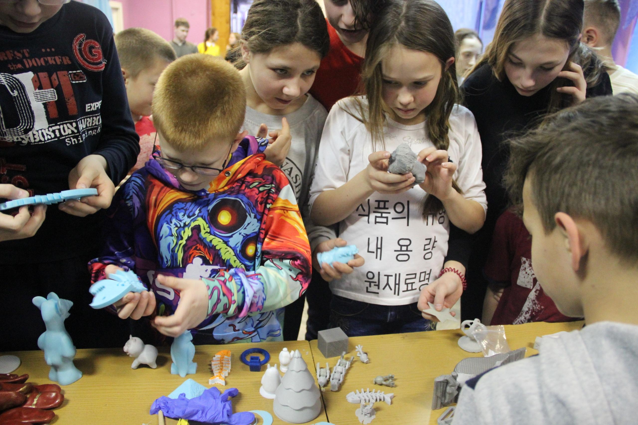 Мастер-класс по 3D печати в Медновском интернате