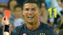 Cristiano Ronaldo All 11 RED CARDS In Career