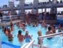Танцуем в басейне на круизном лайнере