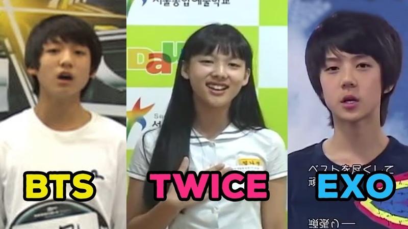 Khi Idol Kpop lần đầu dự thi Audition - Kpop Idols First Audition
