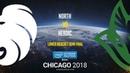 North vs Heroic IEM Chicago 2018 EU Quals map1 de train SleepSomeWhile