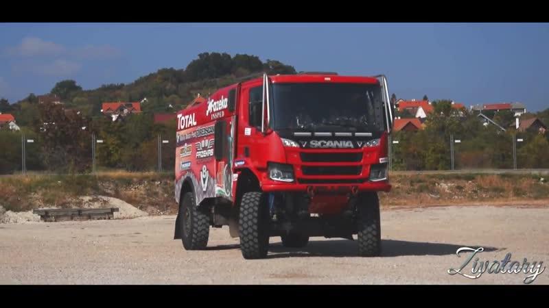 SCANIA V8 RALLY TRUCKS 1300730HP (Fazekas Motorsport)
