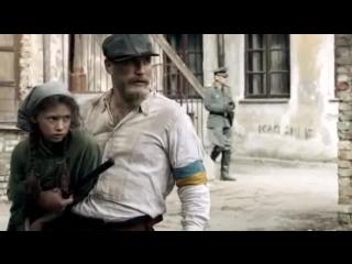 Украинская полиция во время войны офицер SS простой солдат и девочка Еврейка