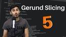 Hour of Python - Coding Challenge 5 | Gerund Slicing