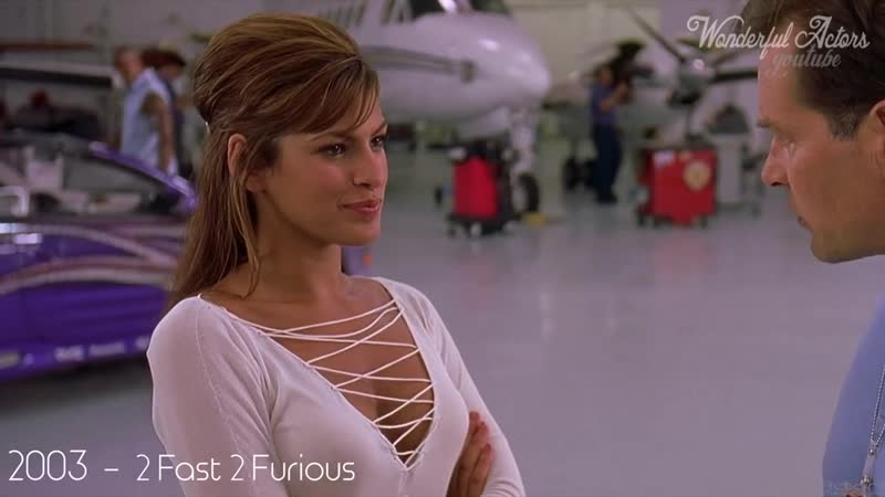 Eva Mendes Time-Lapse Filmography - Through the years, Before and Now!