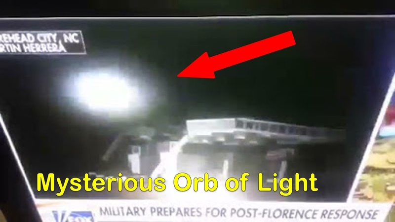 Orb of Light Caught On Fox Live TV During Hurricane Florence