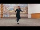 Красивая Девушка от Души танцует Лезгинку 2019 Sword studio
