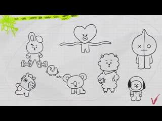 ️ - Definition of a cute mess - BT21 BT21_UNIVERSE
